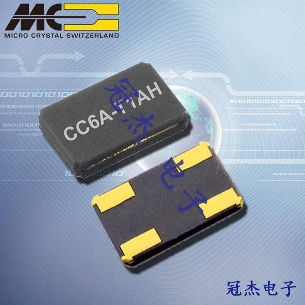 微晶晶振,微晶石英晶振,CC6A-T1A晶振