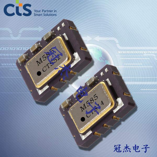 CTS晶振,石英晶体振荡器,589晶振