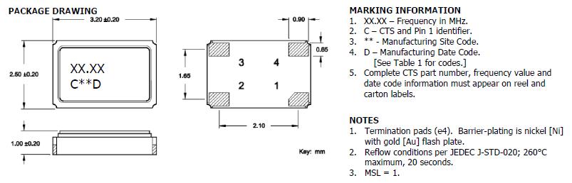 石英晶振自动安装和真空化引发的冲击会破坏产品特性并影响这些产品.请设置安装条件以尽可能将冲击降至最低,并确保在安装前未对晶振特性产生影响.条件改变时,请重新检查安装条件.同时,在安装前后,请确保石英晶振产品未撞击机器或其他电路板等.四脚贴片振荡器,3225进口有源晶振,632晶振 每个封装类型的注意事项 陶瓷包装晶振与SON产品 在焊接陶瓷封装晶振和SON产品 (陶瓷包装是指晶振外观采用陶瓷制品) 之后,弯曲电路板会因机械应力而导致焊接部分剥落或封装分裂(开裂).