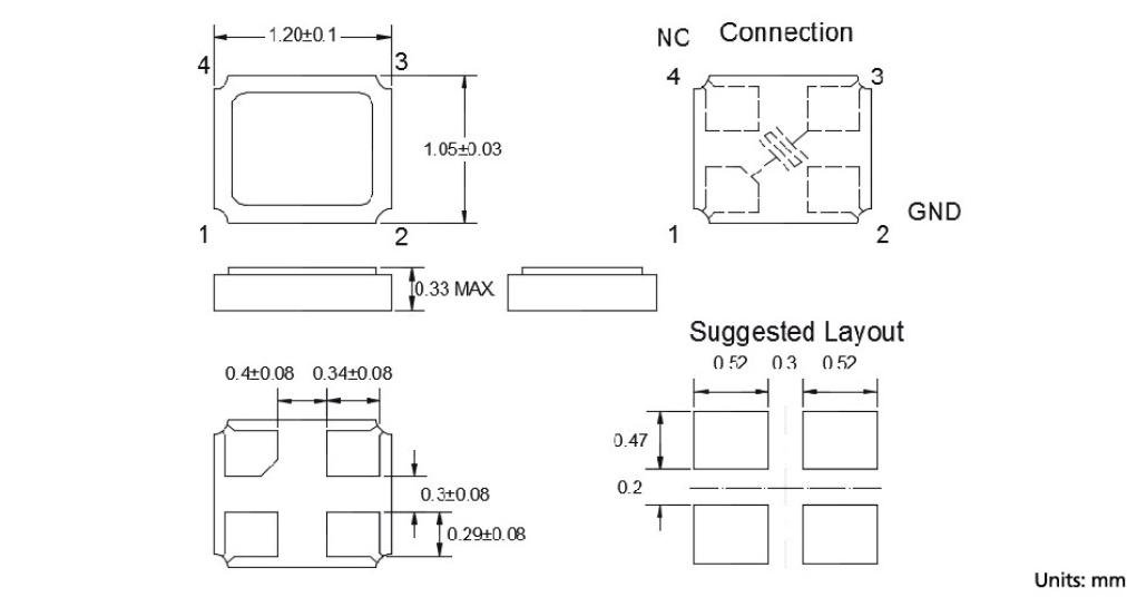 机械振动的影响 当晶振产品上存在任何给定冲击或受到周期性机械振动时,比如:压电扬声器,压电蜂鸣器,以及喇叭等,输出频率和幅度会受到影响.这种现象对通信器材通信质量有影响.尽管石英晶振产品设计可最小化这种机械振动的影响,我们推荐事先检查并按照下列安装指南进行操作.TXC晶振,石英晶振,8J晶体 PCB设计指导 (1) 理想情况下,机械蜂鸣器应安装在一个独立于石英晶体谐振器的PCB板上.