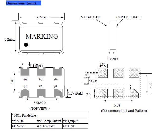 以下是nsk 石英晶振电路设计匹配问题: 一般来说,微处理器的振荡电