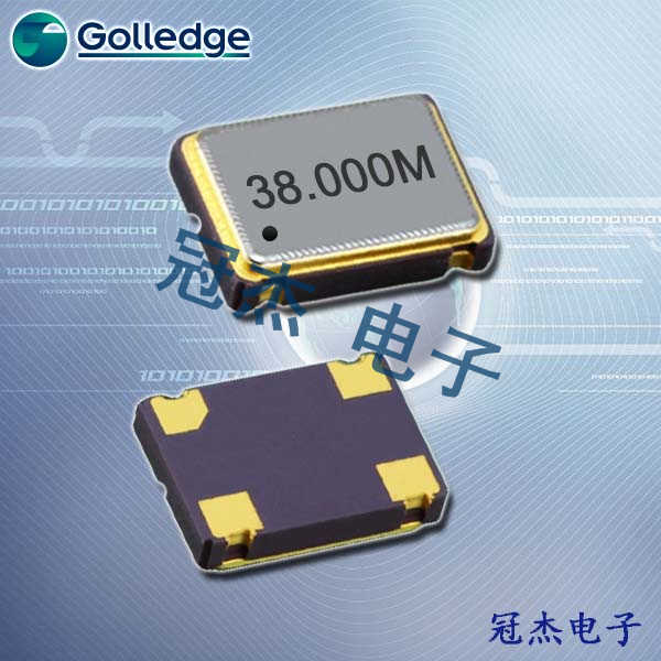 GolledgeCrystal,无源晶振,GSF-61晶振