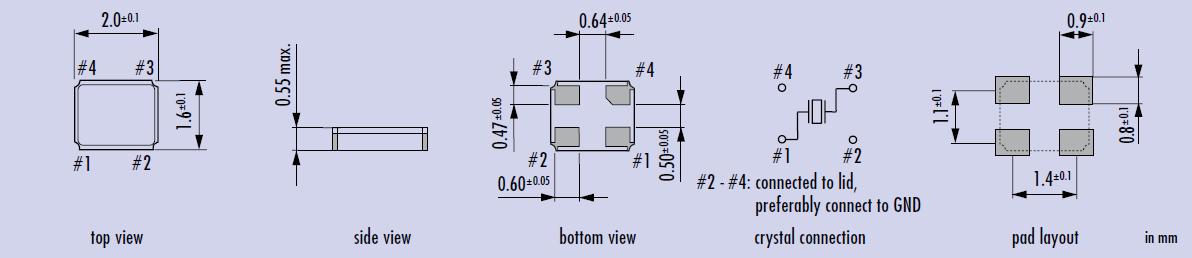 使用环境(温度和湿度) 请在规定的温度范围内使用石英晶振。这个温度涉及本体的和季节变化的温度。在高湿环境下,会由于凝露引起故障。请避免凝露的产生。 晶振/石英晶体谐振器 激励功率 在晶振上施加过多驱动力,会导致产品特性受到损害或破坏。电路设计必须能够维持适当的激励功率 。 负极电阻 除非石英晶体振荡器回路中分配足够多的负极电阻,否则振荡或振荡启动时间可能会增加。 负载电容 有源晶振振荡电路中负载电容的不同,可能导致振荡频率与设计频率之间产生偏差。试图通过强力调整,可能只会导致不正常的振荡。在使用之前