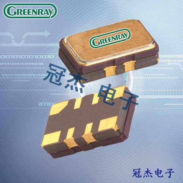 Greenray晶振,温补晶振,T52晶振,T53晶振