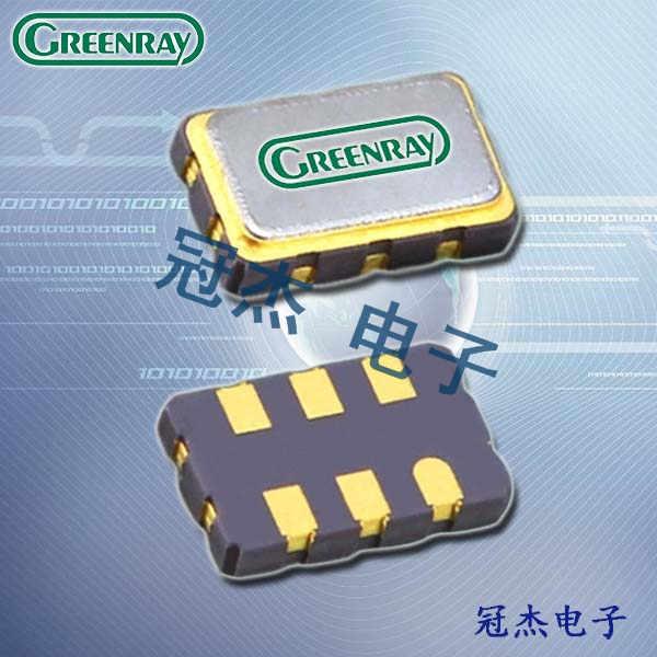 Greenray晶振,低抖动晶振,T1215晶振