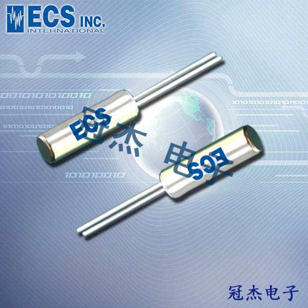 ECS晶振,ECS-3X9X晶振,圆柱晶振,ECS-100-18-9X晶振