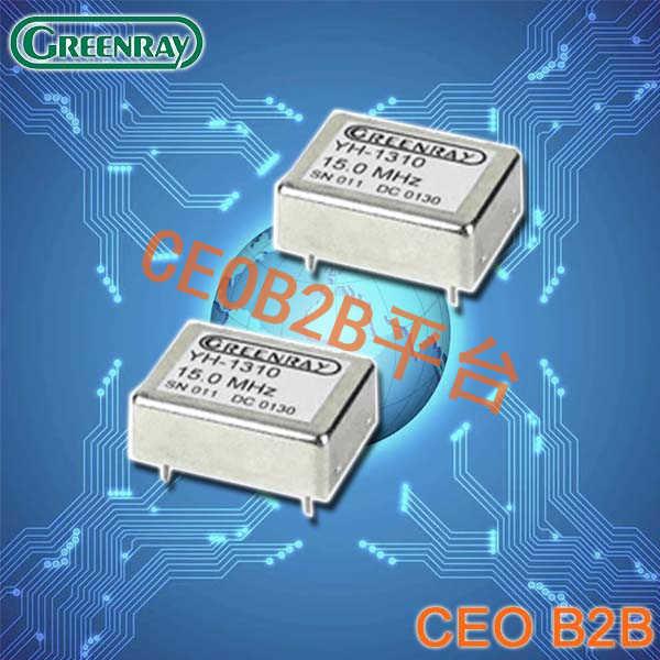Greenray晶振,OCXO晶振,YH1310晶振