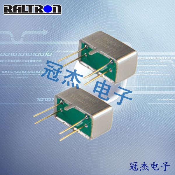 Raltron晶振,石英晶振,D-5晶振