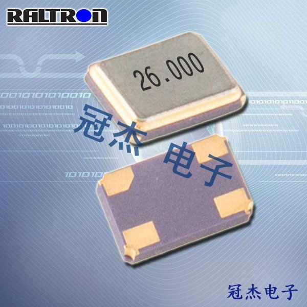 Raltron晶振,无源贴片晶振,H120B晶振