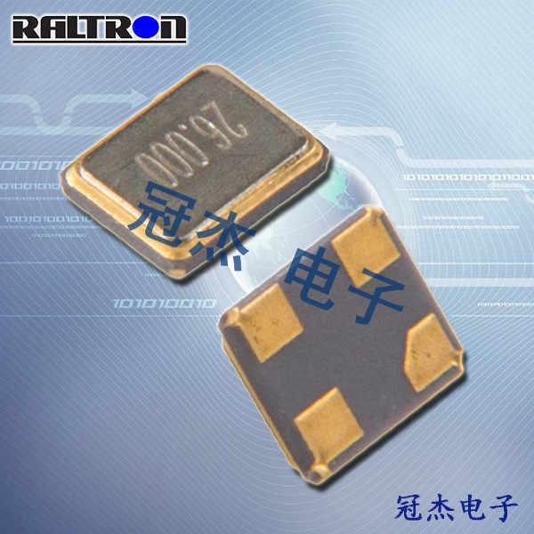 Raltron晶振,石英贴片晶振,R1612晶振