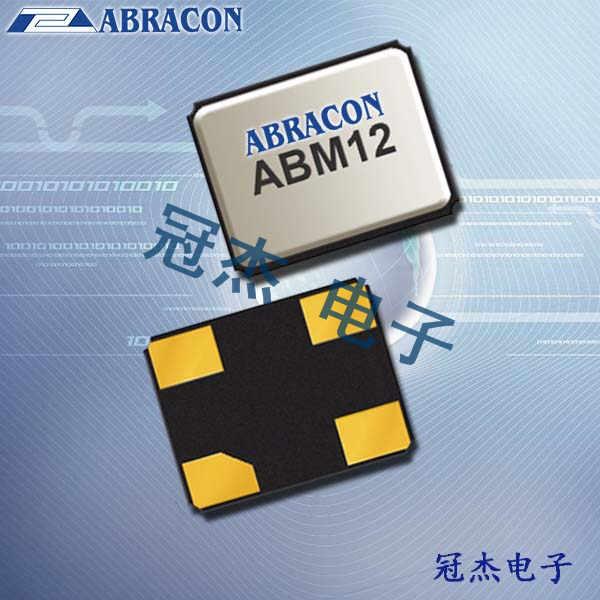 Abracon晶振,贴片晶振,ABM12W晶振,石英谐振器