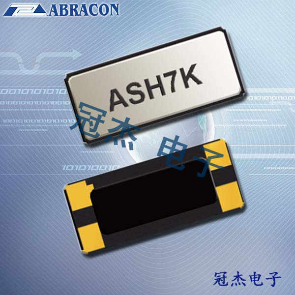 Abracon晶振,32.768KHZ水晶振荡器,ASH7KAIG晶振
