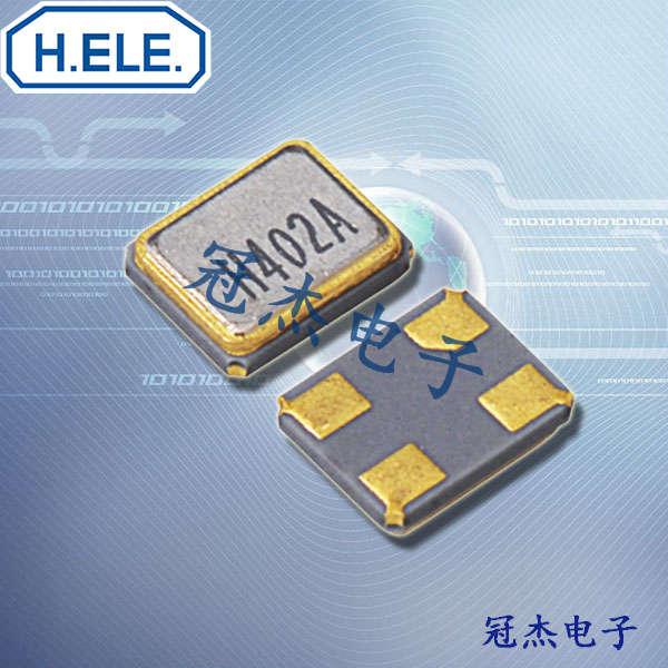 HELE晶振,无源贴片晶振,HSX111SA晶振