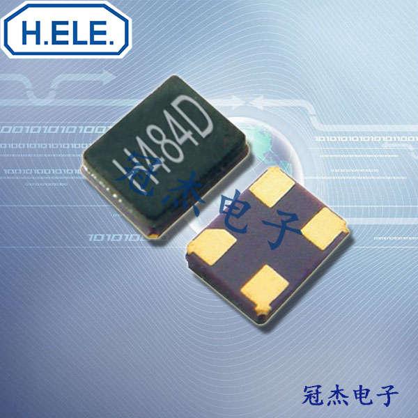 HELE晶振,2520无源晶振,HSX321G晶振