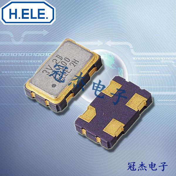 HELE晶振,4脚贴片振荡器,HSO531S晶振