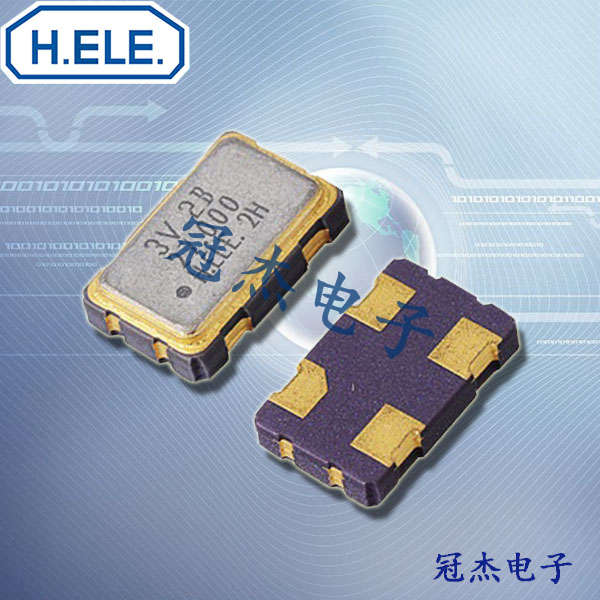 HELE晶振,压控温补振荡器,HSV531S晶振