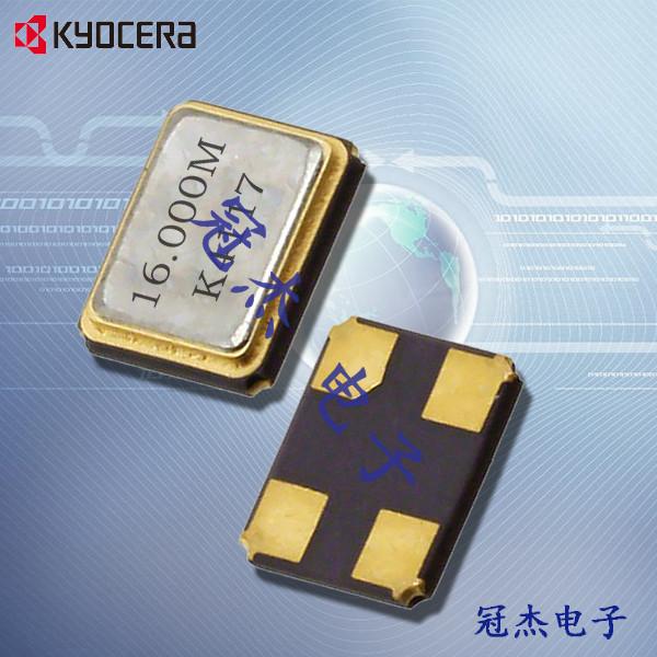 京瓷晶振,无线路由器晶振,CX1612DB晶振