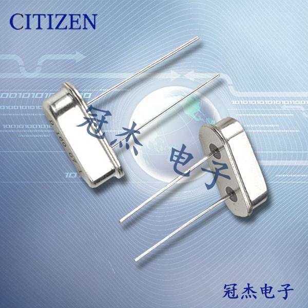 西铁城晶振,进口晶振,HC-49/U-S晶振