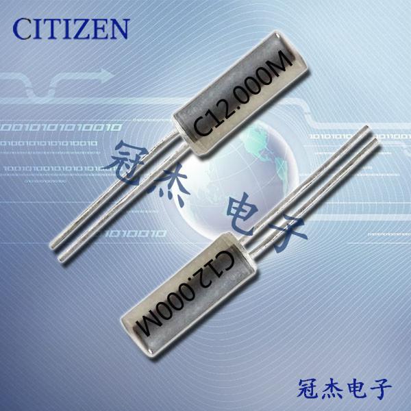 西铁城晶振,石英晶体谐振器,CSA-309晶体