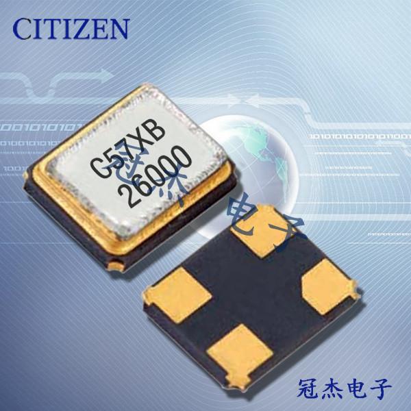 西铁城晶振,石英晶体谐振器,CS325H晶振