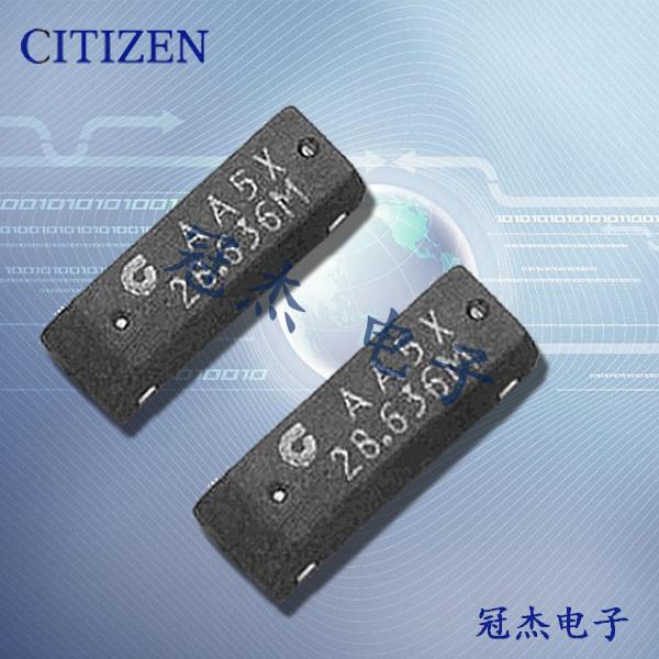 西铁城晶振,石英晶体谐振器,CM309B晶振