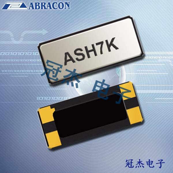 Abracon晶振,32.768KHZ晶体振荡器,ASH7K晶振