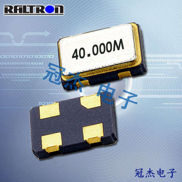 Raltron晶振,32.768K振荡器,CO43025L晶振