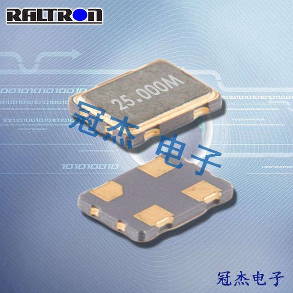 Raltron晶振,32.768K贴片振荡器,CO7050晶振