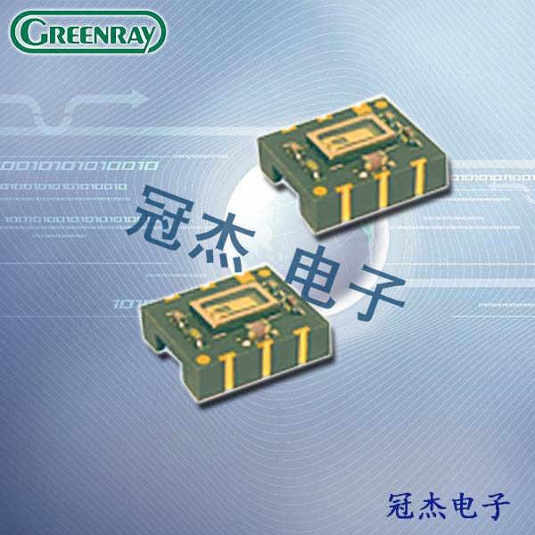 Greenray晶振,贴片晶体振荡器,T1307晶振