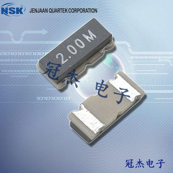 NSK晶振,陶瓷谐振器,NRDZTACC晶振