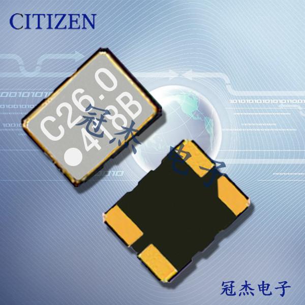 西铁城晶振,3225贴片晶振,CSX-325T晶振