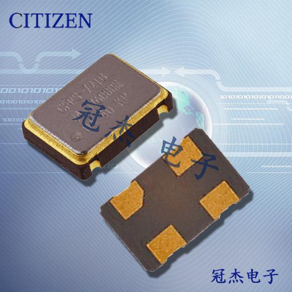 西铁城晶振,5070贴片晶振,CSX-750P晶振
