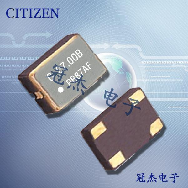 西铁城晶振,OSC晶振,SSX-750P晶振