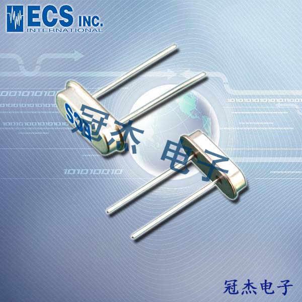 ECS晶振,石英晶振,HC-49USX-4X晶振,ECS-80-S-4X晶振