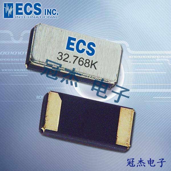 ECS晶振,贴片晶振,ECX-34Q晶振,32.768KHZ晶振