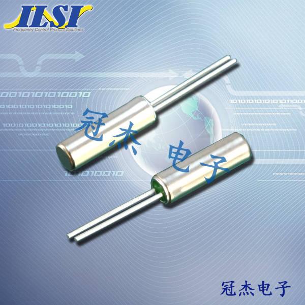 ILSI晶振,石英晶振,26晶振,圆柱晶振