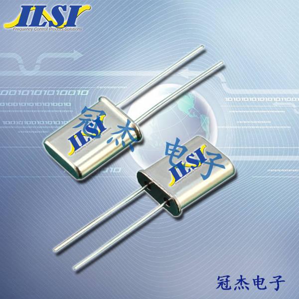 ILSI晶振,石英晶振,HC49U晶振,进口晶振