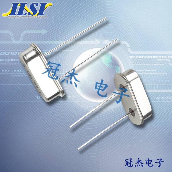 ILSI晶振,石英晶振,HC49US晶振,无源晶振