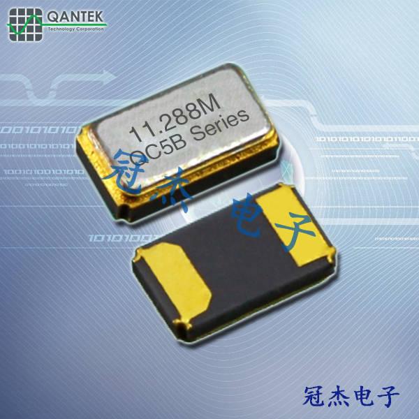 qantek晶振,贴片晶振,QC5B晶振,石英晶体谐振器