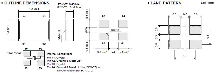 晶振,它的结构是在两侧设置有激励电极,并且连接到设置有连接布线和